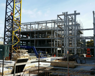 Ivory Apartment Structural Steelwork